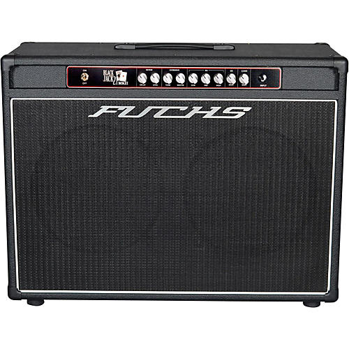 Fuchs Black Jack 2x12 21W Tube Guitar Combo Amp and 4-Button Artist Footswitch Kit-thumbnail