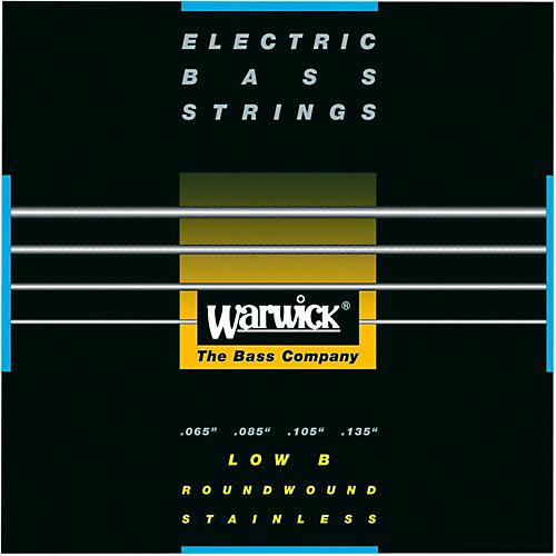 Warwick Black Label 4-String Low B Nickel Bass Strings-thumbnail