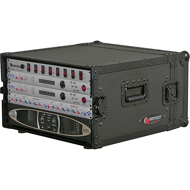 Odyssey Black Label Amp Rack 6 Space Rack