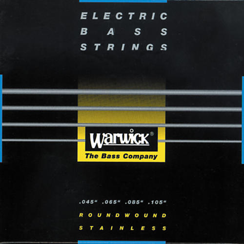 Warwick Black Label Stainless Medium Light 4-String Bass Strings