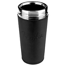 Fender Black Leather Tumbler