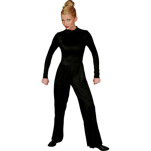 Director's Showcase Black Lycra Jumpsuit-thumbnail