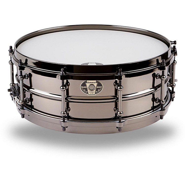 Ludwig Black Magic Snare Black 5X14