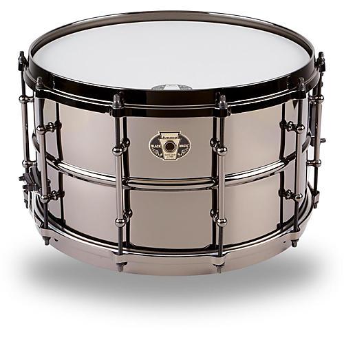 Ludwig Black Magic Snare Drum 8 x 14
