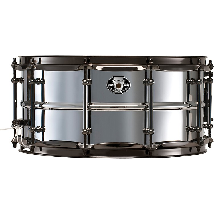 Ludwig Black Magic Stainless Steel Snare Drum