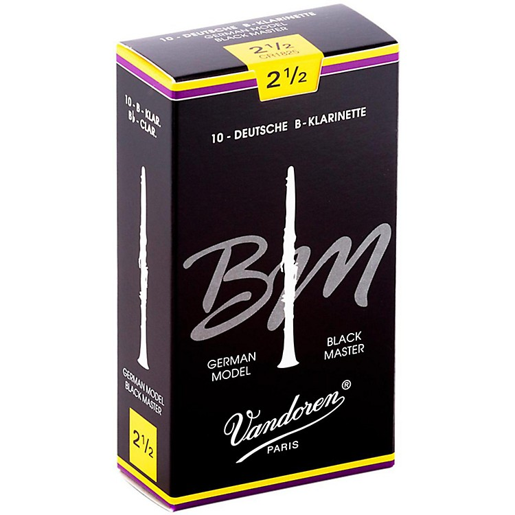 VandorenBlack Master Bb Clarinet Reeds