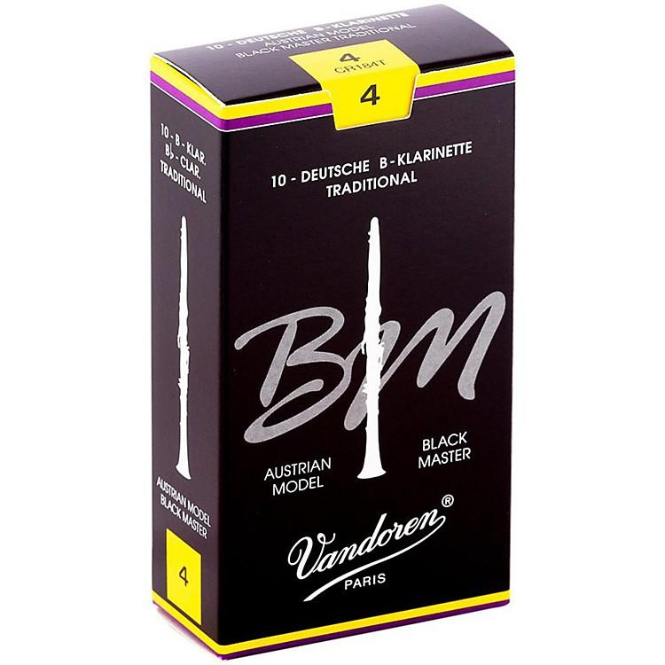 VandorenBlack Master Traditional Bb Clarinet Reeds