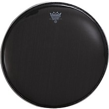 Open Box Remo Black Max Crimped Marching Snare Drum Head