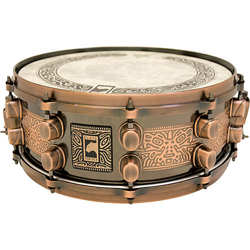 Mapex Black Panther Mayan Steel Snare Drum