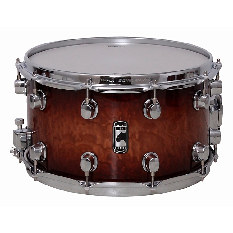 MapexBlack Panther Special Edition Maple Snare DrumCoffee Burst14 X 8