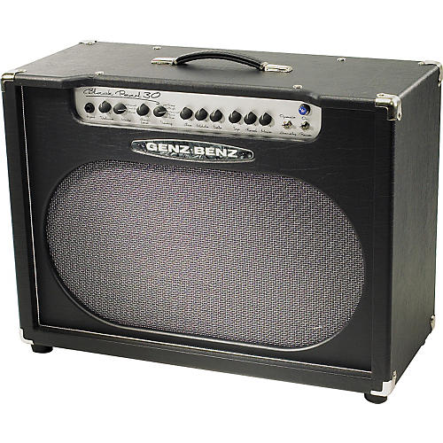 Genz Benz Black Pearl 2X12 Combo Amp Black/Silver