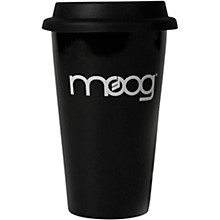 Moog Black Porcelain Travel Mug