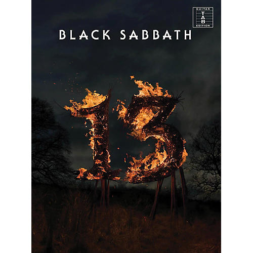 Music Sales Black Sabbath - 13 Guitar Tab Songbook-thumbnail