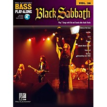 Hal Leonard Black Sabbath Bass Play-Along Volume 26 Book/CD