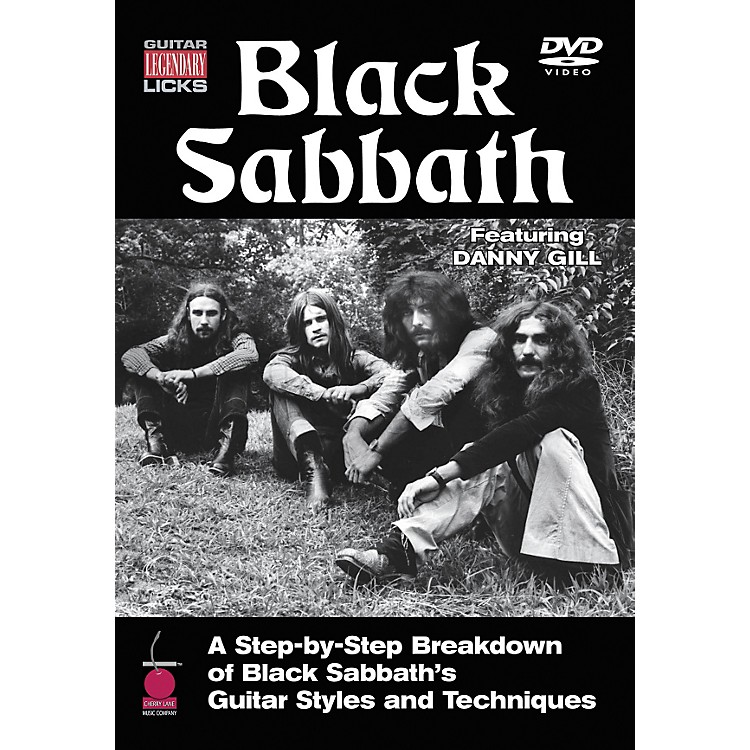 Cherry Lane Black Sabbath Legendary Licks Guitar (DVD)