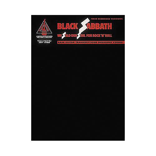 Hal Leonard Black Sabbath We Sold Our Soul for Rock 'n' Roll Bass Guitar Tab Book