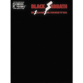 hal leonard black sabbath we sold our soul for rock 39 n 39 roll guitar tab book musician 39 s friend. Black Bedroom Furniture Sets. Home Design Ideas