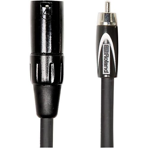 Roland Black Series XLR (Male) - RCA Interconnect Cable-thumbnail
