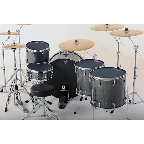 Remo Black Suede Ambassador Batter Drumhead 16 in.