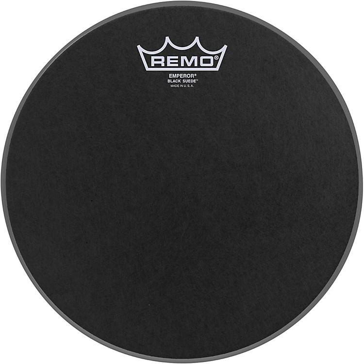 RemoBlack Suede Emperor Batter Drumhead10