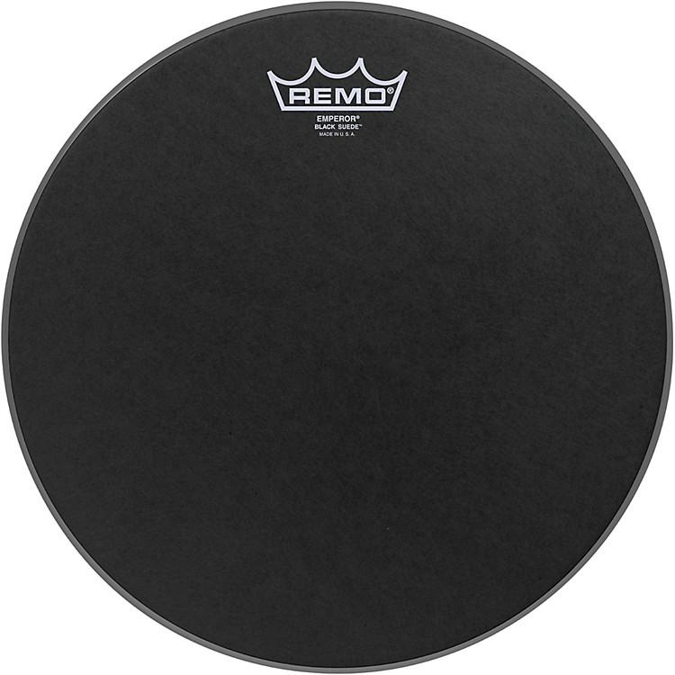RemoBlack Suede Emperor Batter Drumhead12