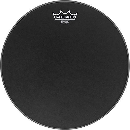 Remo Black Suede Emperor Batter Drumhead 13 in.