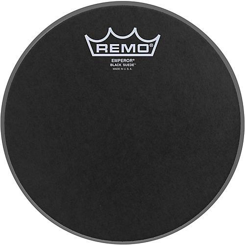 Remo Black Suede Emperor Batter Drumhead 8 in.