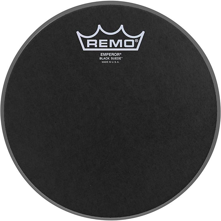 RemoBlack Suede Emperor Batter Drumhead8