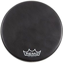 Remo Black Suede PowerMax Series Bass Drumhead with Crimplock