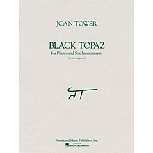 Associated Black Topaz (Score and Parts) Ensemble Series Composed by Joan Tower