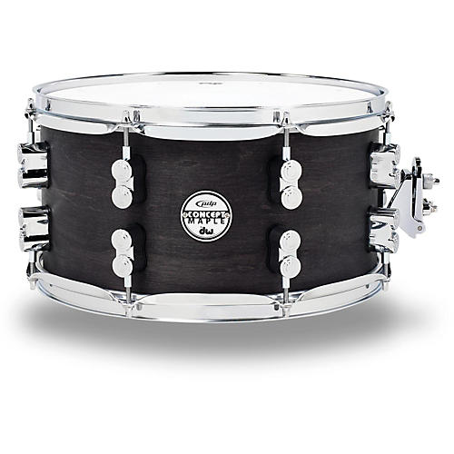 PDP Black Wax Maple Snare Drum 13x7 Inch