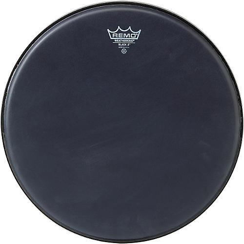 Remo Black X Batter Drumhead-thumbnail