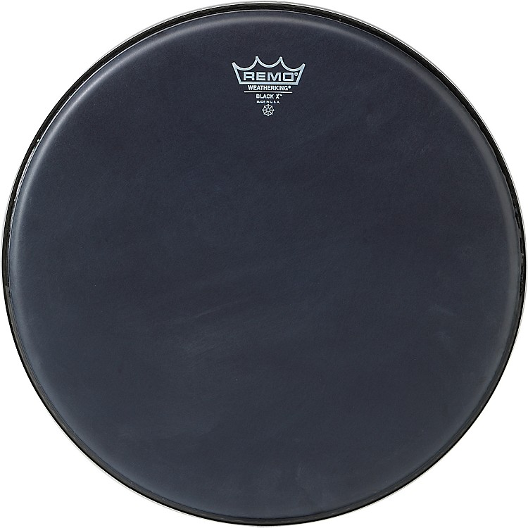 Remo Black X Batter Drumhead 14