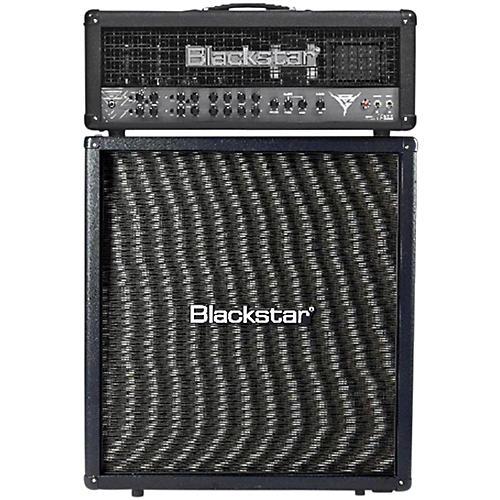 Blackstar Blackfire 200 Gus G Signature 200W Guitar Head with 412 240W 4x12 Straight Guitar Speaker Cabinet-thumbnail