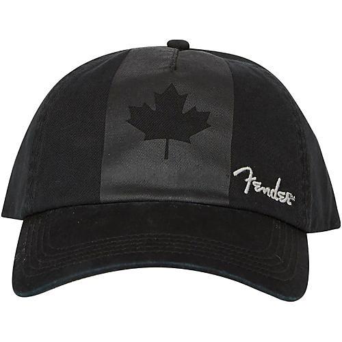 Fender Blackout Canadian Flag Hat - Onesize-thumbnail