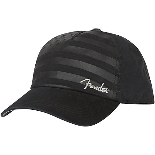 Fender Blackout USA Flag Hat - Onesize-thumbnail