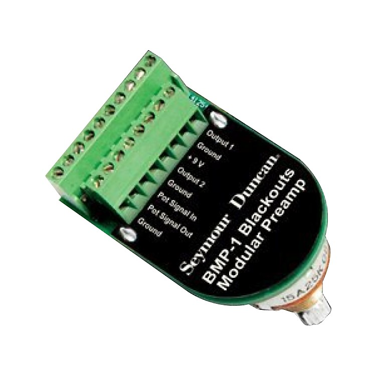 Seymour DuncanBlackouts Modular Preampstandard shaft