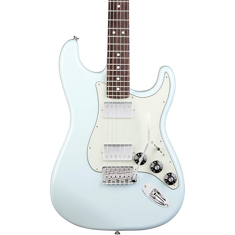 Fender Blacktop Stratocaster HH with Rosewood Fretboard Electric Guitar Sonic Blue Rosewood