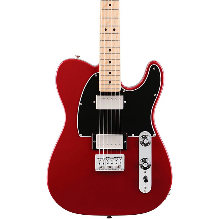 Fender Blacktop Telecaster HH Electric Guitar (Maple Fingerboard) Candy Apple Red Maple