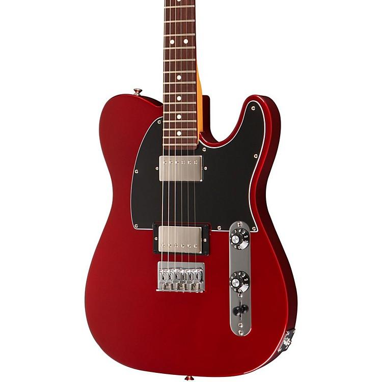 FenderBlacktop Telecaster HH Electric Guitar (Rosewood Fingerboard)Candy Apple RedRosewood