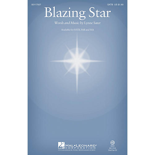 Hal Leonard Blazing Star CHOIRTRAX CD Composed by Lynne Sater-thumbnail
