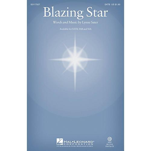 Hal Leonard Blazing Star SATB composed by Lynne Sater-thumbnail