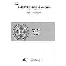Music Sales Bless the Lord, O My Soul SATB Composed by Mikail M. Ippolitof-Ivanof