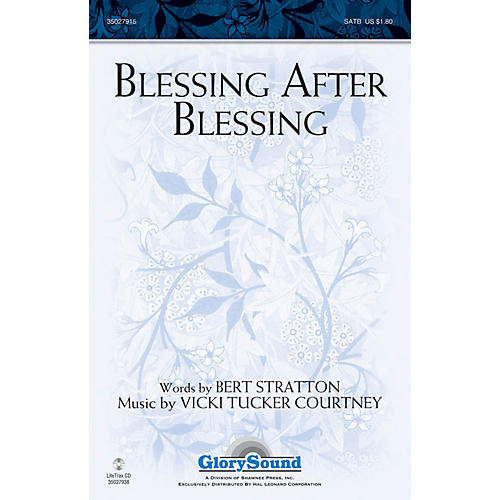 Shawnee Press Blessing After Blessing SATB composed by Vicki Tucker Courtney-thumbnail