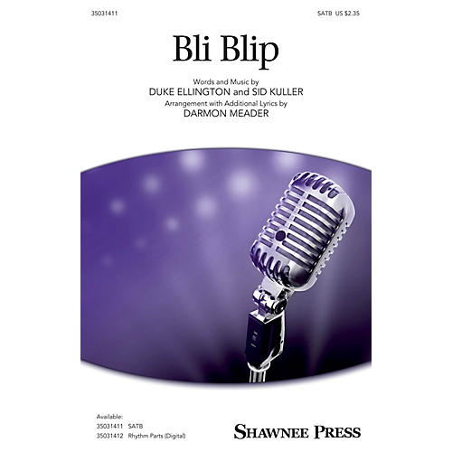 Shawnee Press Bli-blip SATB arranged by Darmon Meader