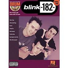 Hal Leonard Blink 182 Drum Play-Along Series Volume 10 (Book/CD)