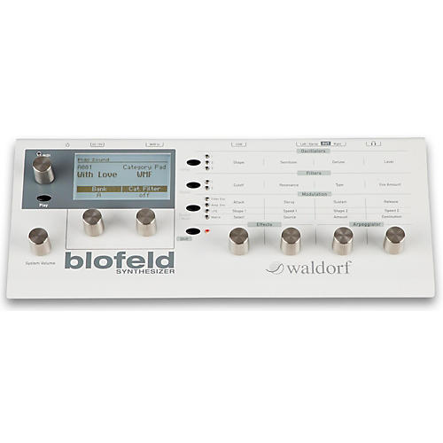 Waldorf Blofeld Desktop Synth Module Creme