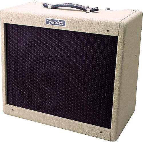 Fender Blonde Blues Jr Guitar Amp and '60s Strat Package-thumbnail