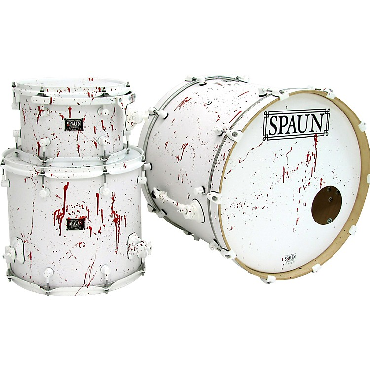 SpaunBlood Spatter Maple 3-Piece Shell Pack