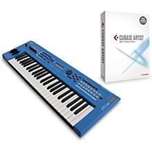 Yamaha Blue 49 Key Music Production Synthesizer With Cubase Artist